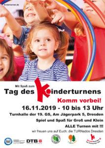 Tag des Kinderturnens @ Turnhalle der 19. Grundschule Dresden